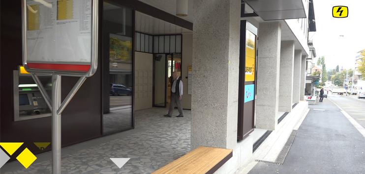 Die Post Frauenfeld hat eine Lösung zum Parkplatzproblem (Screenshot: TELE TOP)