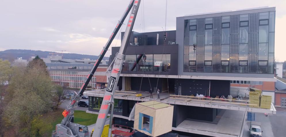 Die Forscher der Empa haben Verunreinigungen im Beton festgestellt. (Bild: empa.ch)