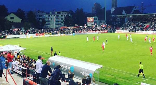Der FC Winterthur kann den Schwung nach dem Sieg im Cup gegen den FC St.Gallen nicht in die Meisterschaft mitnehmen. (Screenshot: Instagram/fcwinterthur_offiziell)