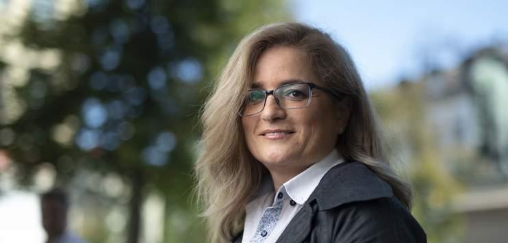 Maria Pappa von der SP hat im ersten Wahlgang um das Stadtpräsidium am meisten Stimmen erzielt. (Bild: KEYSTONE/Gian Ehrenzeller)