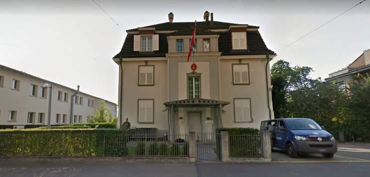 Das türkische Konsulat in Zürich ist mit Molotow-Cocktails beworfen worden. (Bild: Screenshot Google Maps)