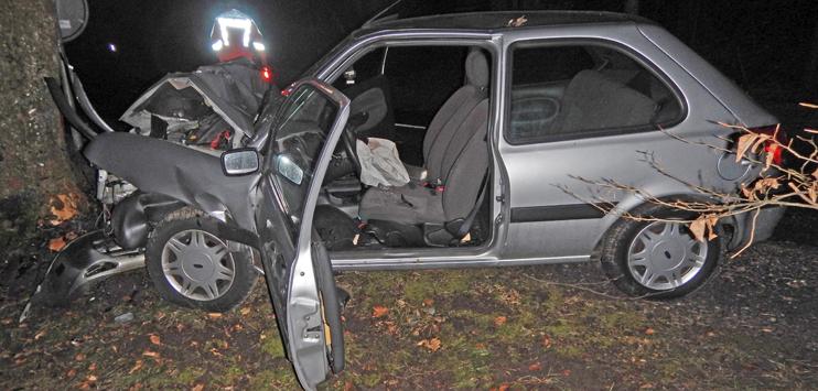 Der Unfallwagen (Bild: Kantonspolizei Thurgau)