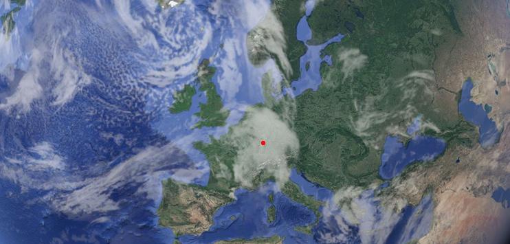 astronaut gerst musste deutschland mit google earth suchen. Black Bedroom Furniture Sets. Home Design Ideas