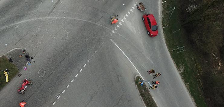 Die Unfallstelle (Bild: Kantonspolizei Zürich)
