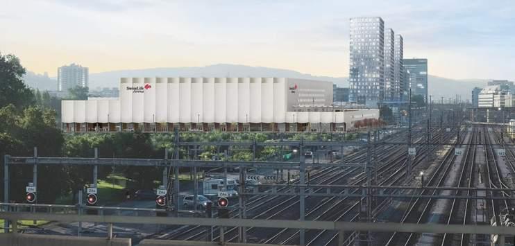Das Verkehrskonzept rund ums Stadion stösst auf Kritik. (Bild: Caruso St John Architects)