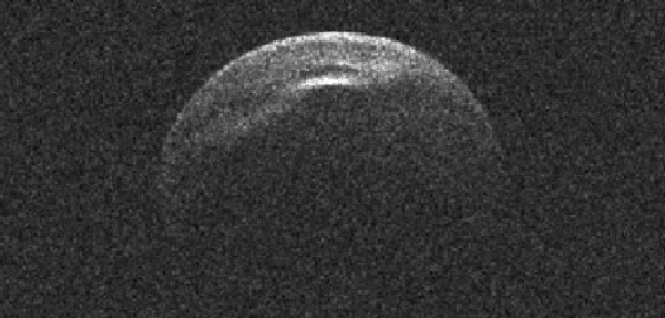 Der Asteroid 66391 fliegt heute Nacht nahe an der Erde vorbei. (Bild: NASA/Radarteam des JPL)
