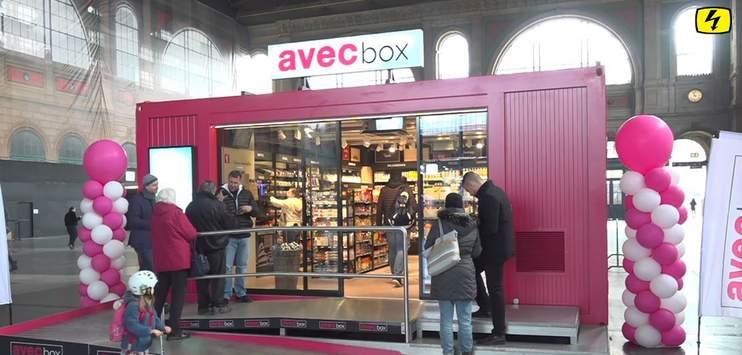 Die «avec box» aus dem Hauptbahnhof Zürich soll bald am Bahnhof Wetzikon stehen. (Bild: Screenshot TELE TOP)