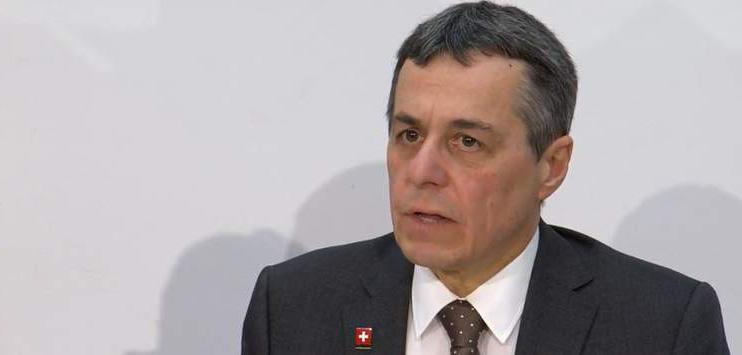 Ignazio Cassis (Screenshot: admin.ch)