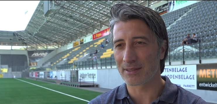 Murat Yakin beim FC Schaffhausen auch Sportchef. (Screenshot: TELE TOP)
