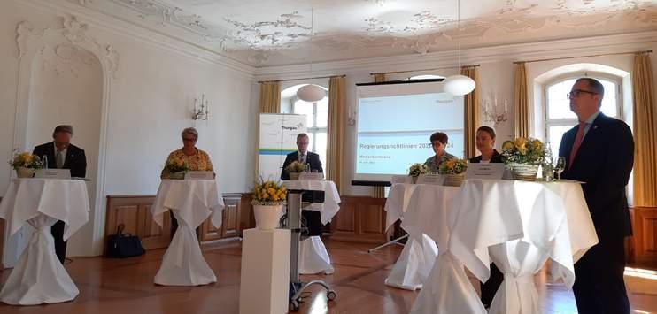 Der Thurgauer Regierungsrat zeigt die Veranstalter an. (Archivbild: RADIO TOP/ Vivien Sasso)