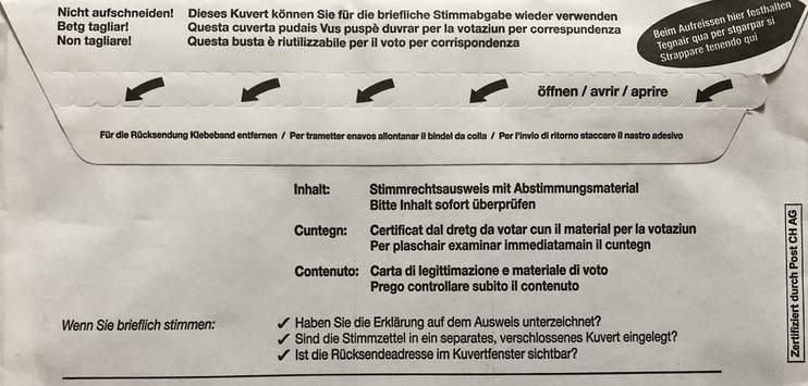 In Effretikon haben einige Stimmberechtigte kein Wahlcouvert erhalten. (Bild: Archiv/RADIO TOP)