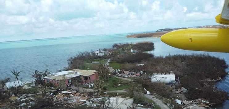 Auf den Bahamas hat der Hurrikan «Dorian» ein Spur der Verwüstung hinterlassen. (Bild: zVg. Dieter Morszeck Stiftung)