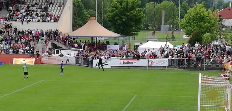 FC Winterthur spricht Stadionverbot aus. (Bild: RADIO TOP Reporter)