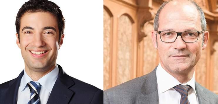 Andrea Caroni und Daniel Fässler sind in den Ständerat gewählt. (Bildcollage RADIO TOP: Andrea Caroni/cvp.ch)