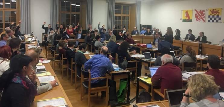 Der Winterthurer Gemeinderat tagt zum letzten Mal in der alten Konstellation. (Archivbild RADIO TOP)