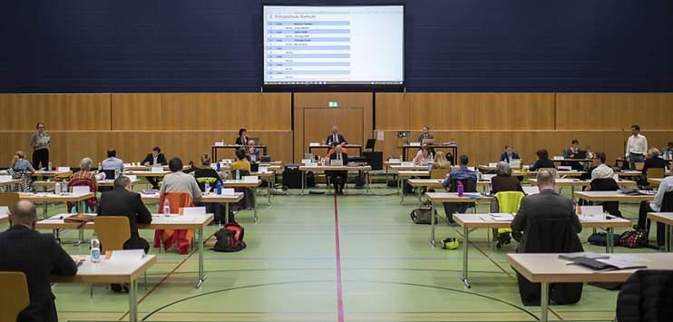 Die Grünen schicken keinen Kandidaten in den zweiten Wahlgang um den noch zu besetzenden Stadtratssitz in St.Gallen. Im Stadtparlament konnten sie acht Sitze besetzen. (Archivbild: KEYSTONE/GIAN EHRENZELLER)