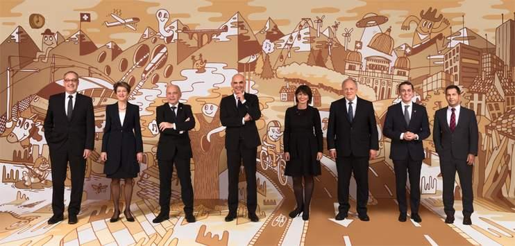 Der Schweizer Bundesrat. (Bild: admin.ch)