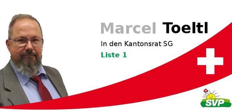 Die Kandidatur von Marcel Toeltl bleibt weiterhin bestehen. (Bild: Facebook / Marcel Toeltl)