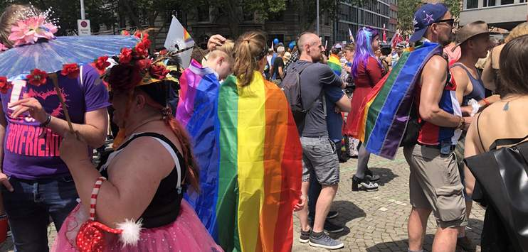 An der Pride in Zürich kam es zu mehreren Angriffen auf Homosexuelle. (Bild: RADIO TOP/Sarah Frattaroli)