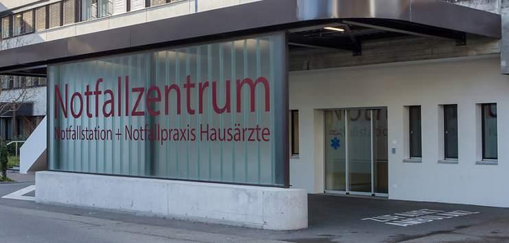 Die Verdachtsfälle werden nun vom Personal des Notfallzentrums betreut. (Symbolbild: KEYSTONE/Spitäler Schaffhausen)