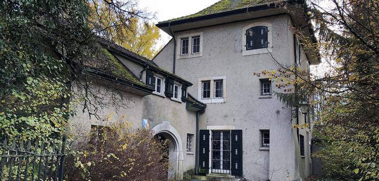 Die Villa Wolfensberg hat einen neuen Besitzer. (Bild: zVg/Kanton Thurgau)