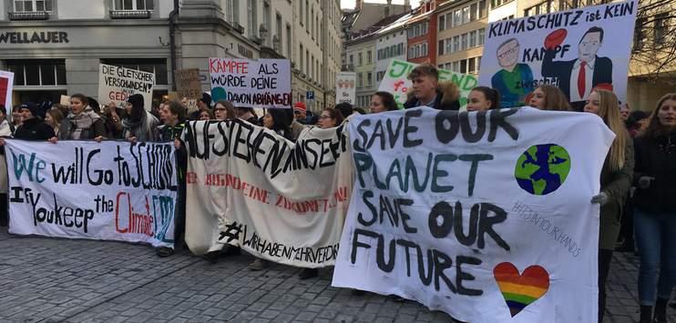 Die St.Galler Regierung lässt sich von den Klimastreiks nicht beeindrucken. (Bild: RADIO TOP: Elena Oberholzer)