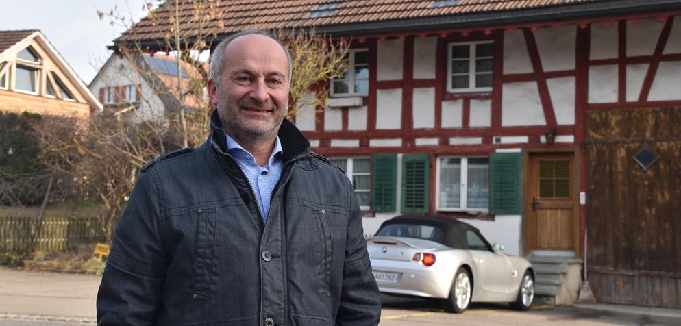 Neben Parteipräsident Konrad Langhart treten auch Vizepräsident Gregor Rutz und der 2. Vizepräsident Stefan Schmid zurück. (Screenshot: TELETOP)