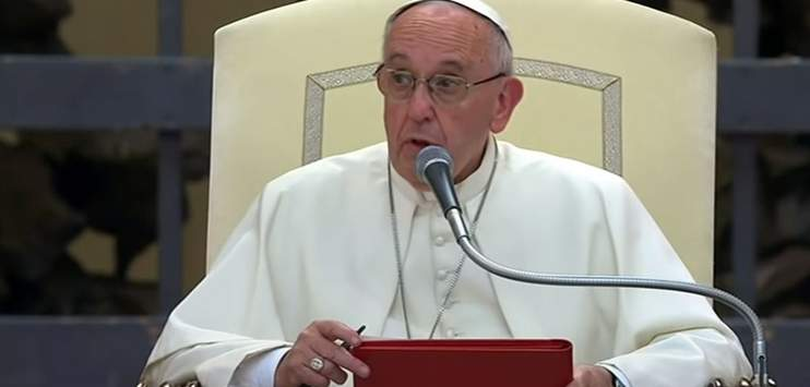 Papst Franziskus hat sich erneut gegen Abtreibung ausgesprochen. (Screenshot: youtube.com/YourDokuChannel)