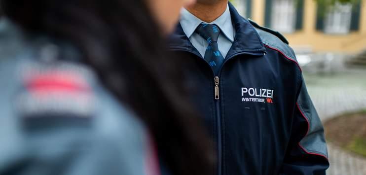 Bis jetzt wurden bei der Stadtpolizei Winterthur nur vereinzelte Polizisten positiv aufs Coronavirus getestet. (Symbolbild: Stadtpolizei Winterthur)