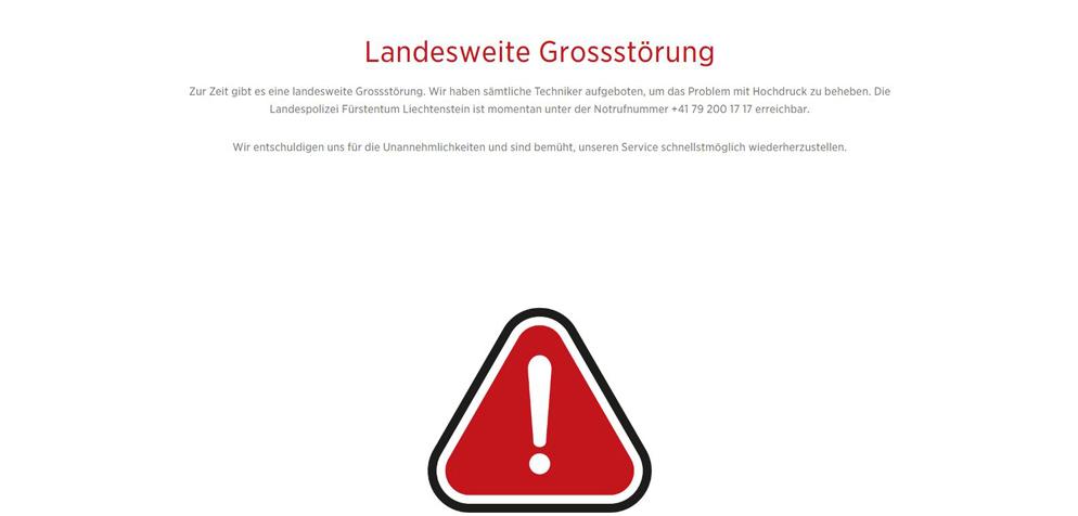 feuerwehren fürstentum lichtenstein