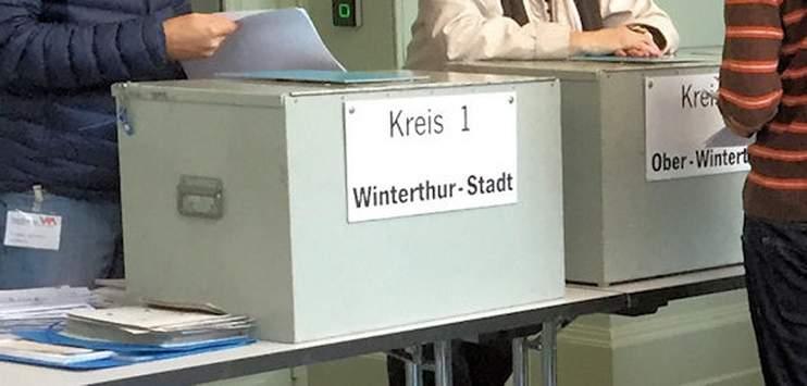 Wahlurne Winterthur (Archivbild: RADIO TOP)