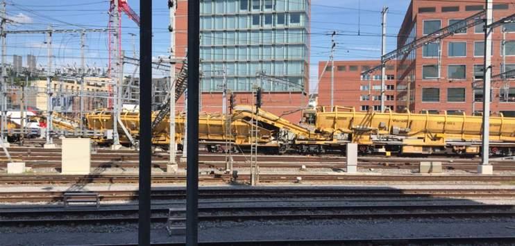 Die Zugentgleisung am Bahnhof Winterthur im Juni 2018 kostet 1,2 Millionen Franken. (Bild: TELE TOP)
