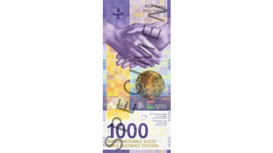 Thema der neuen Note ist «Die vielseitige Schweiz». (Bild: snb.ch)