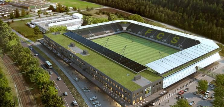 Wird beim Cupspiel gegen YB nicht ausverkauft sein, der Lipo Park in Schaffhausen (Bild: lipopark.ch)