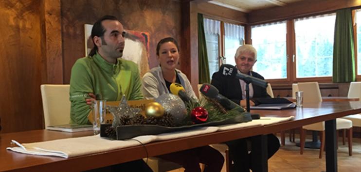Die Firma Pfefferbeere ist die neue Pächterin des weltbekannten Berggasthaus Äscher. Der neue Wirt heisst Gallus Knechtle. (Bild: RADIO TOP/Elena Oberholzer)