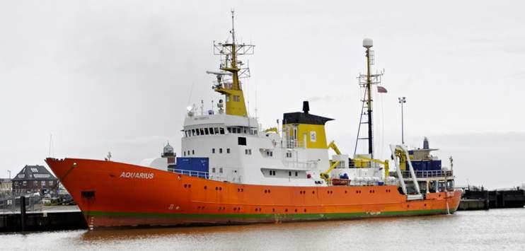 Die «Aquarius» wird nicht mehr für Rettungsaktionen auf dem Mittelmeer eingesetzt. (Bild: wikipedia.org)