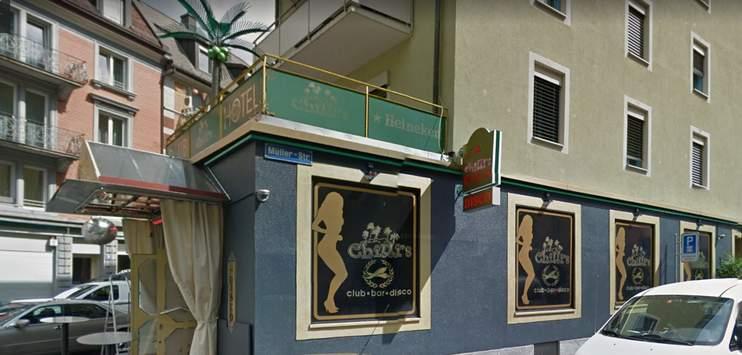 Das Hotel «Chilli's» in Zürich (Bild: Screenshot Google Street View)