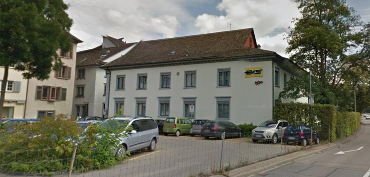 In Zukunft soll in Schaffhausen nicht mehr der Regierungsrat über den Verkauf von Aktien des kantonalen Elektrizitätswerks (EKS) entscheiden können sondern das Parlament (Bild: Screenshot Google Street View)