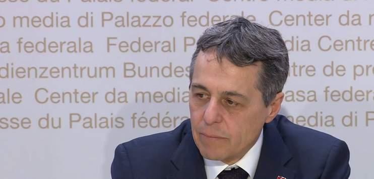 Ignazio Cassis versucht laut eigenen Angaben in diesen Tagen, persönlich zu vermitteln. (Screenshot: youtube.com/Der Schweizerische Bundesrat)