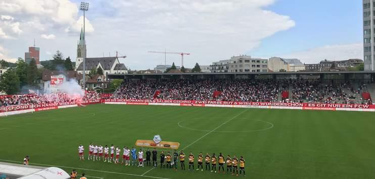 Am Samstag wird auf der Schützenwiese in Winterthur die neue Fussballsaison angepfiffen. (Bild: RADIO TOP/Daniel Schmuki)