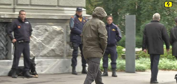 Die Vorfälle in der Winterthurer An'Nur Moschee könnten eine Angelegenheit für das Zürcher Obergericht werden. Neun Angeklagte haben scheinbar Berufung angemeldet. (Screenshot: TELE TOP)