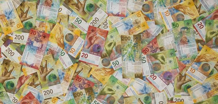 So sieht das Konto des Kantons Schaffhausen 2019 wohl aus: Der Kanton rechnet mit einem Plus von 1,1 Millionen Franken. (Bild: SNB)