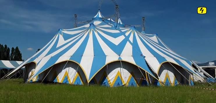 Nach gerade einmal knapp zwei Wochen steht das Zirkusprojekt von Beat Breu bereits wieder vor dem Ende. (Bild: Screenshot TELE TOP)