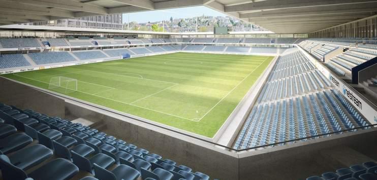 So soll das geplante Stadion dereinst aussehen. (Bild: projekt-ensemble.ch)