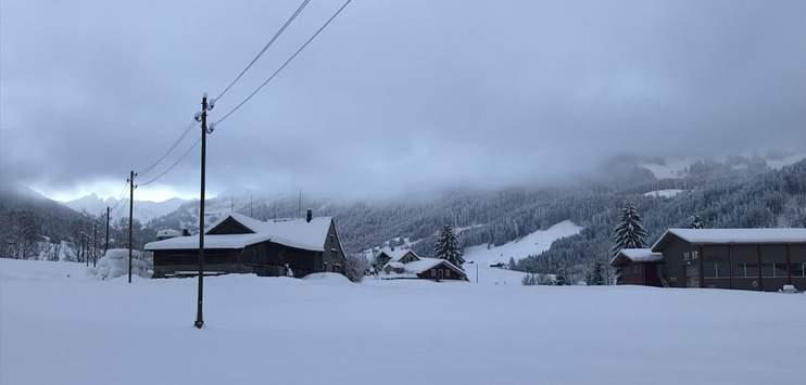 Rund um den Säntis fiel in den vergangenen Tagen viel Schnee. Die Lage ist an einigen Orten kritisch. (Bild: RADIO TOP/Elena Oberholzer)