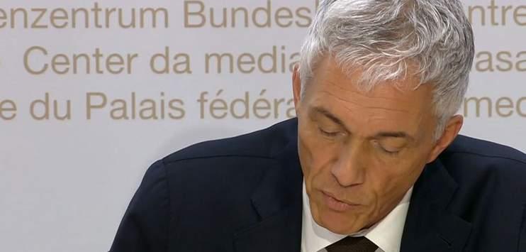 Die Wiederwahl von Bundesanwalt Michael Lauber wird auf den Herbst verschoben (Screenshot: SRF)
