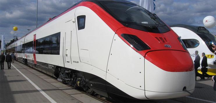 Stadler bekundet Interesse an Unternehmensteilen der Konkurrenten Alstom und Siemens. (Bild: wikipedia.org/Creative Commons)